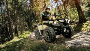Новият Yamaha Kodiak 450: природна стихия