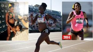 Алисия Монтано отново бяга 800 метра бременна