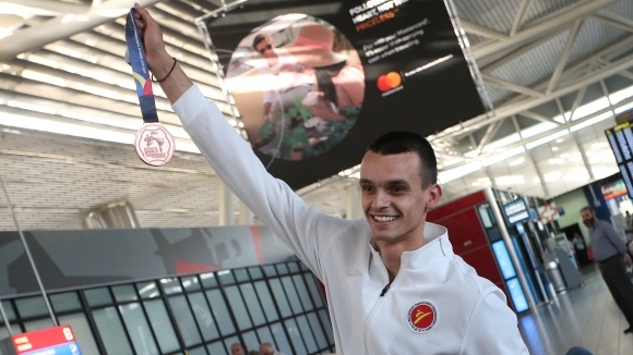 Медалистът Владимир Далаклиев: 20-те години тренировки си струваха