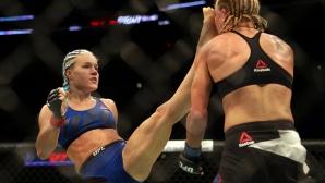 Секси дупе №1 в UFC с нов впечатляващ успех (видео + галерия)