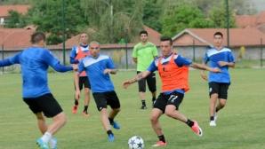 Тежки натоварвания за играчите на Черно море