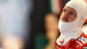 Фетел на косъм от забрана да участва в Гран При