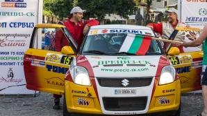 Suzuki България в подкрепа на шампионски рали екипаж