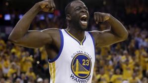"""Дреймънд Грийн е """"Защитник на годината"""" в НБА"""