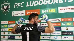 Лудогорец представи заместника на Владо Стоянов, преди дни е пазил срещу Ривър Плейт (видео+снимки)