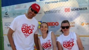 Следващият турнир по плажен волейбол може да е на Копакабана (видео + галерия)