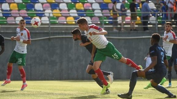 Гол от съблекалнята и няколко пропуска спряха България на старта на Евро 2017