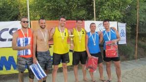 Филипов и Христов се завърнаха с нова титла от Beach Volley Mania в Козлодуй (снимки)