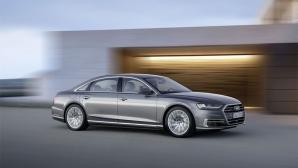 Новият Audi A8: Бъдещето на луксозния клас (видео+галерия)
