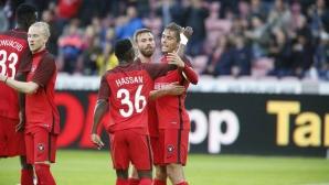 Мидтиланд без Краев направи голям обрат в Лига Европа