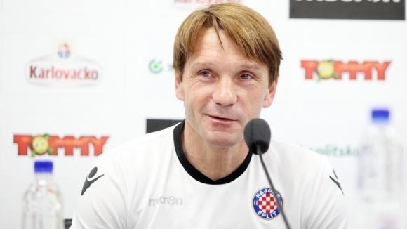 Треньорът на Хайдук: Повдигнахме духа ни преди мача с Левски