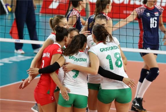 България отнесе Хърватия във Вараждин