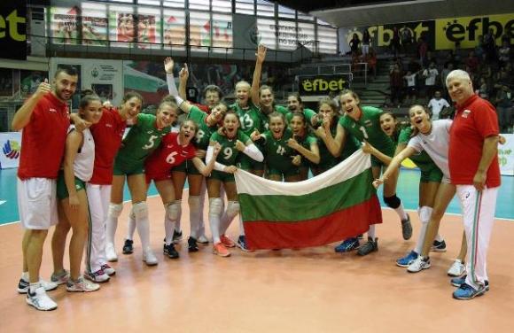 България с първа победа на Европейското за девойки (видео)