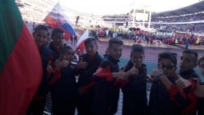 Децата на Локо (София) развяха българското знаме пред 55 000 души в Гьотеборг (видео)