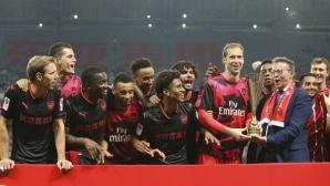 Арсенал надви Байерн с дузпи (видео+галерия)
