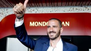 Милан официално обяви Бонучи, договорът е за пет години