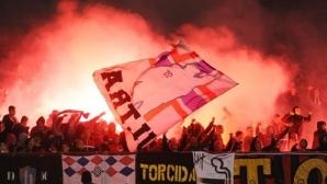 Шамар за Хайдук от УЕФА след изхвърлянето на Левски