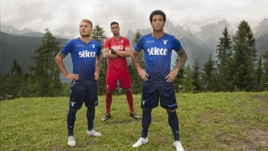 Лацио показа третия екип (снимки)