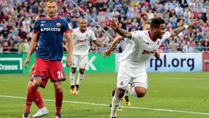 ЦСКА се провали в дербито с Локо в дебюта за сезона на Жоро Миланов (видео)