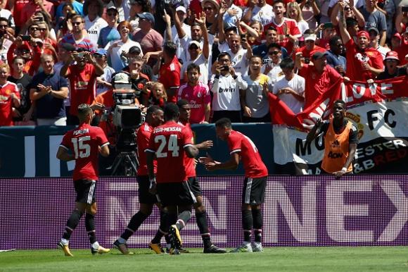 Реал Мадрид загуби от Манчестър Юнайтед в репетицията за Суперкупата