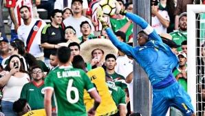 """Ямайка - Мексико е финалът за """"Голд Къп"""" (видео)"""