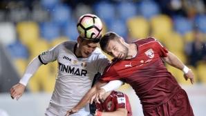 Пламен Илиев и Астра загубиха от Волунтари в повторение на финала за Купата на Румъния