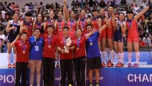Китай е новият световен шампион при девойките до 20 години