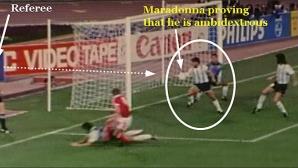 """Марадона проговори и за другата """"Божия ръка"""""""