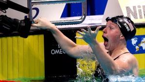 Лили Кинг спечели титлата на 100 метра бруст с нов световен рекорд