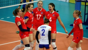 Русия е съперникът на България на 1/2-финалите на Евроволей 2017