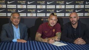 Официално: Наинголан подписа нов договор с Рома