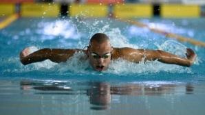 Антъни Иванов отпадна в квалификациите на 100 метра бътерфлай