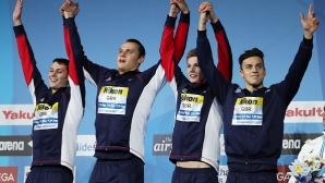 Великобритания спечели щафетата на 4 по 200 метра при мъжете