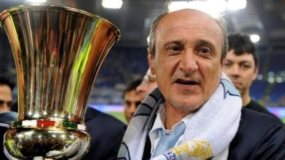 Взел трофей с Лацио преговаря с Левски