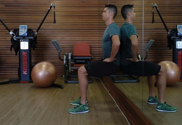 Тренировъчен ден с Кристиано Роналдо