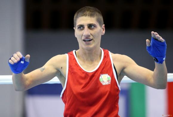 Севда Асенова спечели титлата на Първенството на ЕС по бокс
