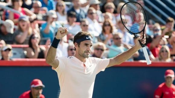 """Федерер ще се опита да спечели първа титла от """"Роджърс Къп"""" в Монреал"""