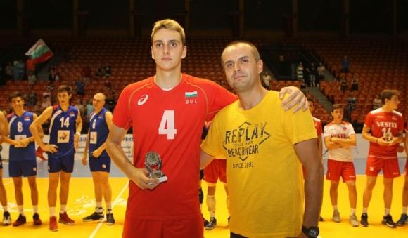 Двама българи в Идеалния отбор на Балканиадата