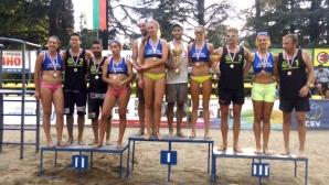 Нешев/Раев и Динова/Колева триумфираха на турнира в Кърджали