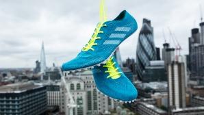 Adidas представи на световното първия шпайк за спринтове от рециклирана океанска пластмаса