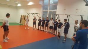 Надъхаха по уникален начин играчите на Левски (снимка)