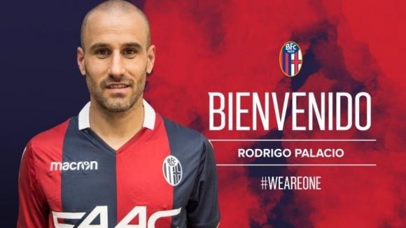 Официално: Родриго Паласио подписа с Болоня