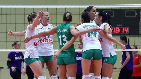 Волейболистките на България отстъпиха на Русия във втората контрола