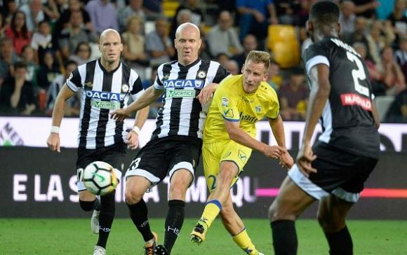 Вратарски грешки провалиха Удинезе срещу Киево