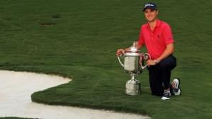 Джъстин Томас триумфира в последния голф мейджър за годината!