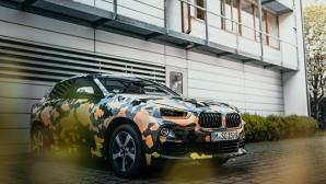 Експедиция в градската джунгла за новото BMW X2 (снимки)