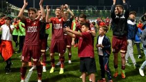Венелин Филипов с цял мач при победа на Волунтари (видео)