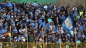 ОД на МВР в Благоевград предприема всички необходими мерки за нормално протичане на мача Пирин - Левски