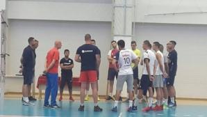 Иван Тасев с първа тренировка начело на Марек