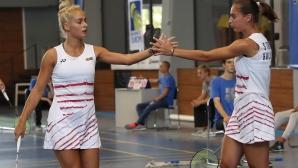 Сестри Стоеви се класираха за финала на двойки в София